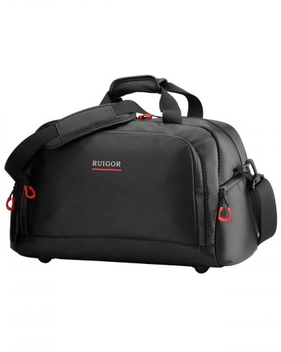 RUIGOR MOTION 01 Duffelbag Black