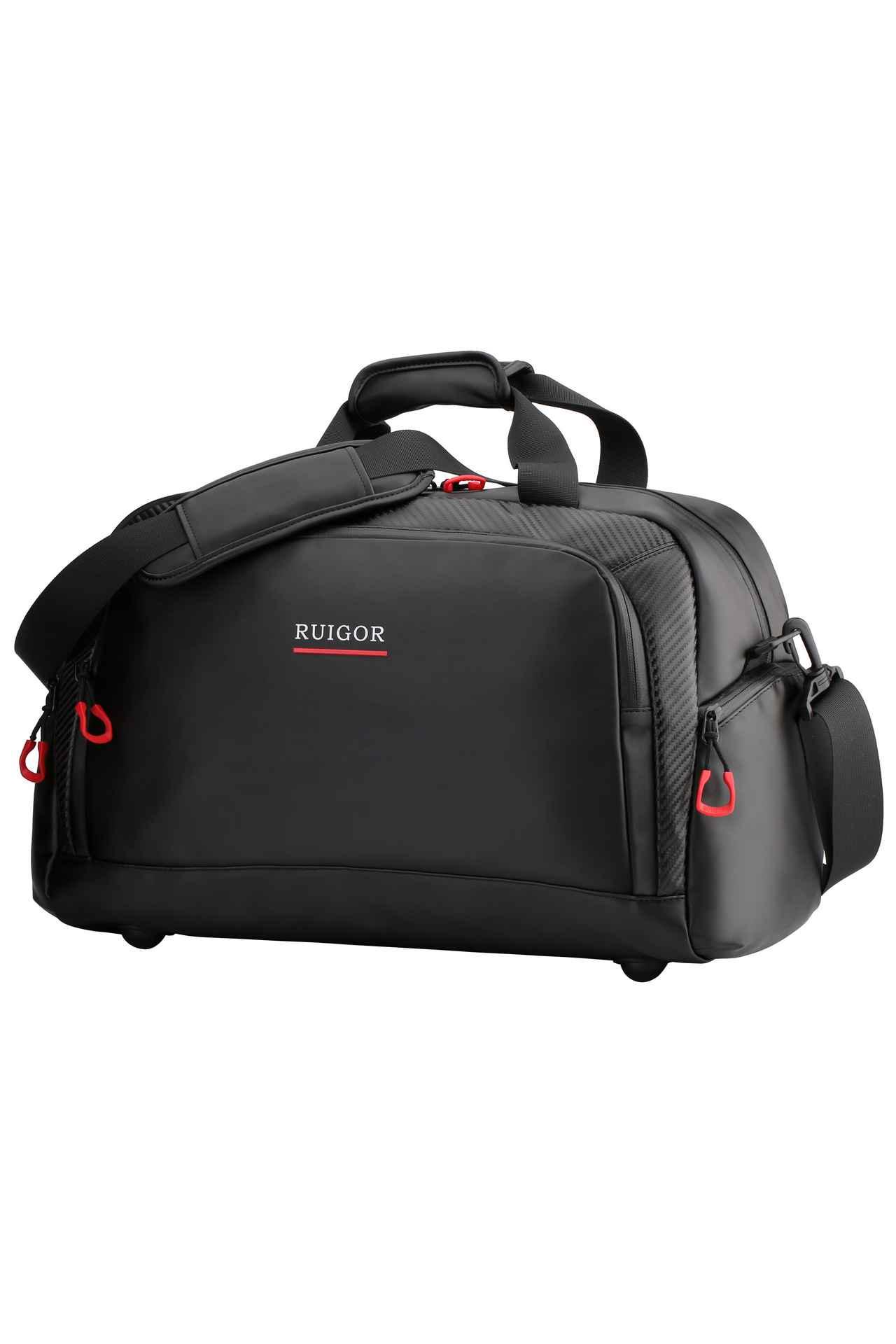 RUIGOR MOTION 01 Duffelbag Black