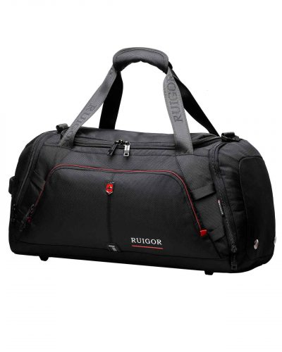RUIGOR MOTION 07 Duffelbag Black