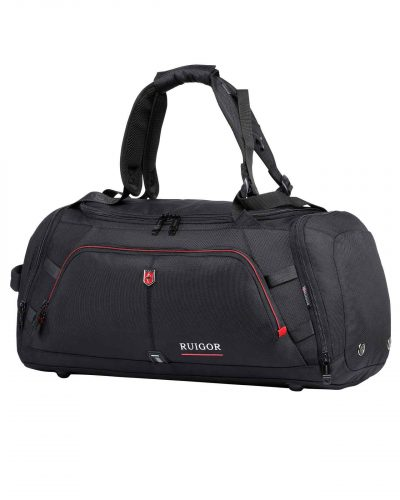 RUIGOR MOTION 12 Duffelbag Black