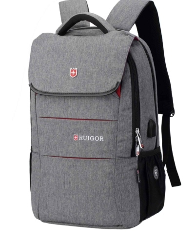RUIGOR CITY 64 MOCHILA PARA LAPTOP COLOR GRIS