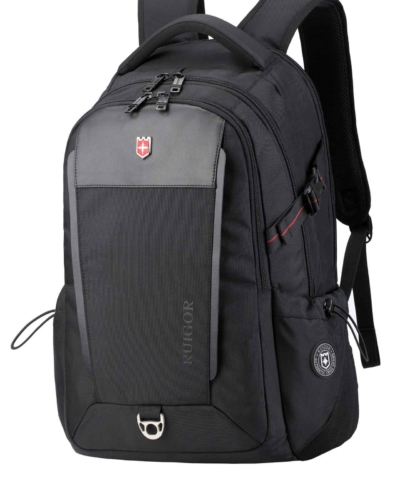 RUIGOR EXECUTIVE 26 MOCHILA DE LUJO COLOR NEGRO