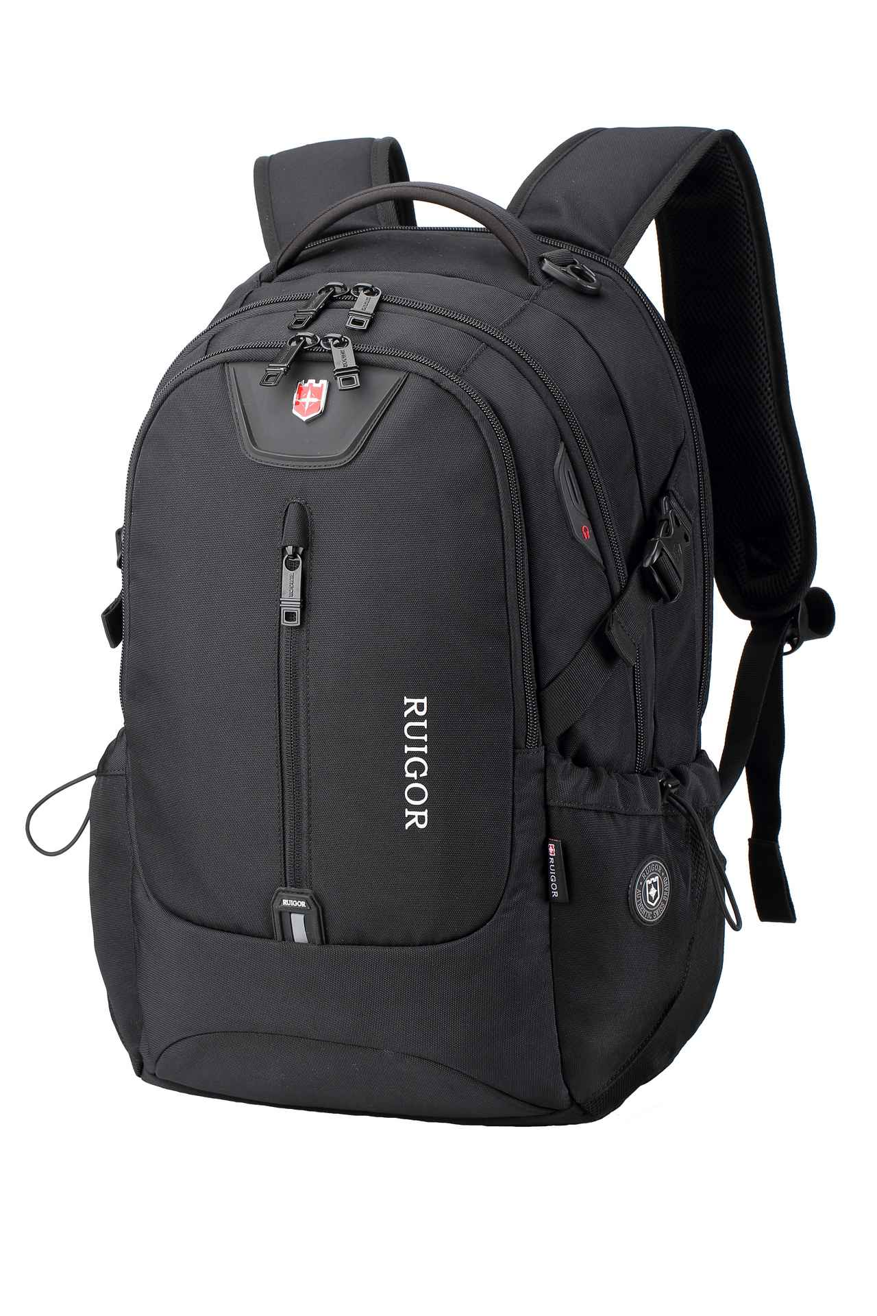 RUIGOR ICON 82 Laptop Backpack Black Large