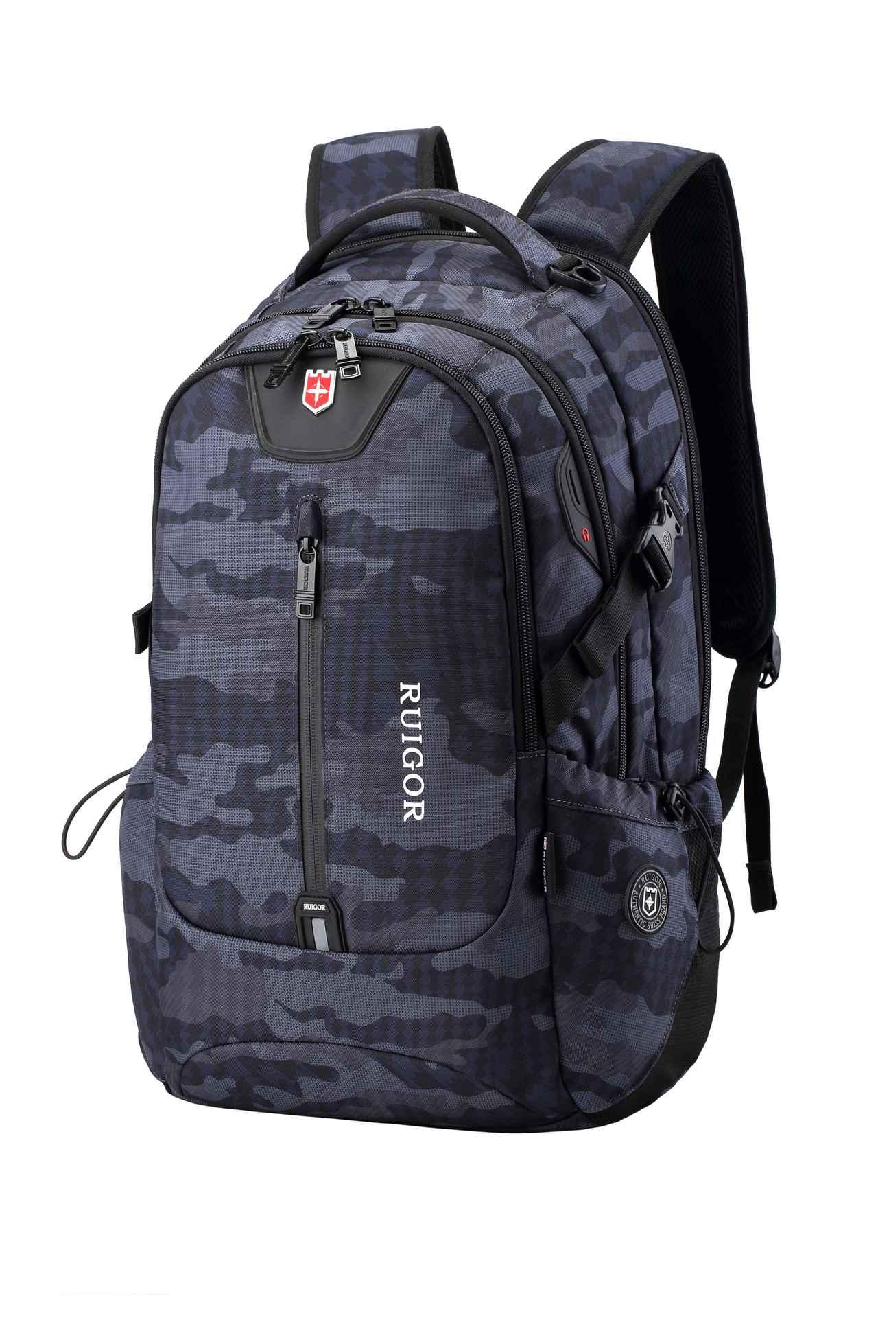 RUIGOR ICON 82 Laptop Camo Backpack