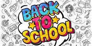 School backpack - back to school