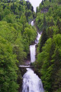 Waterfalls in Switzerland - Giessbach