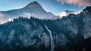 Waterfalls in Switzerland - Reichenbach