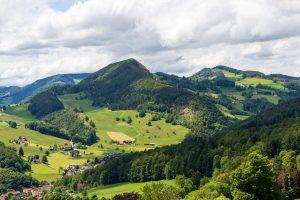 spring hikes in switzerland - Langenbruck