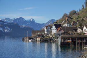 spring hikes in switzerland - Walensee